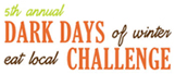 5th Annual Dark Days Eat Local Challenge